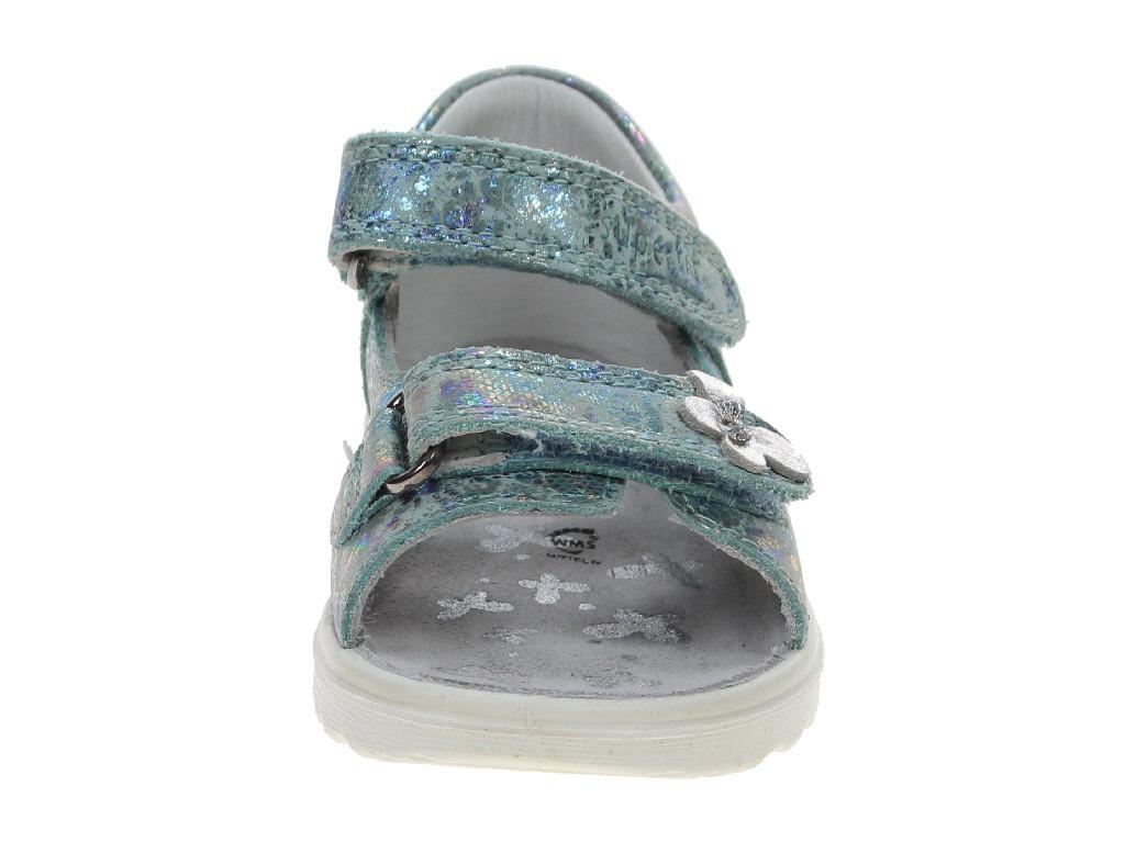 Superfit Sandalen Kinderschuhe 2-00014-57 Blau | Kinderschuhe IGVYU