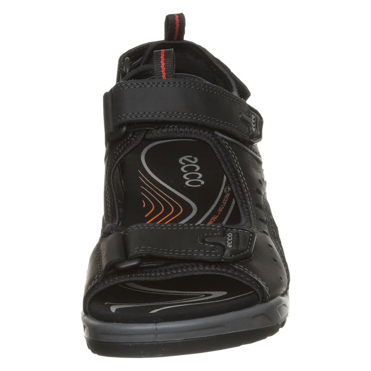 Ecco Sportliche Sandalen Schwarz Offroad