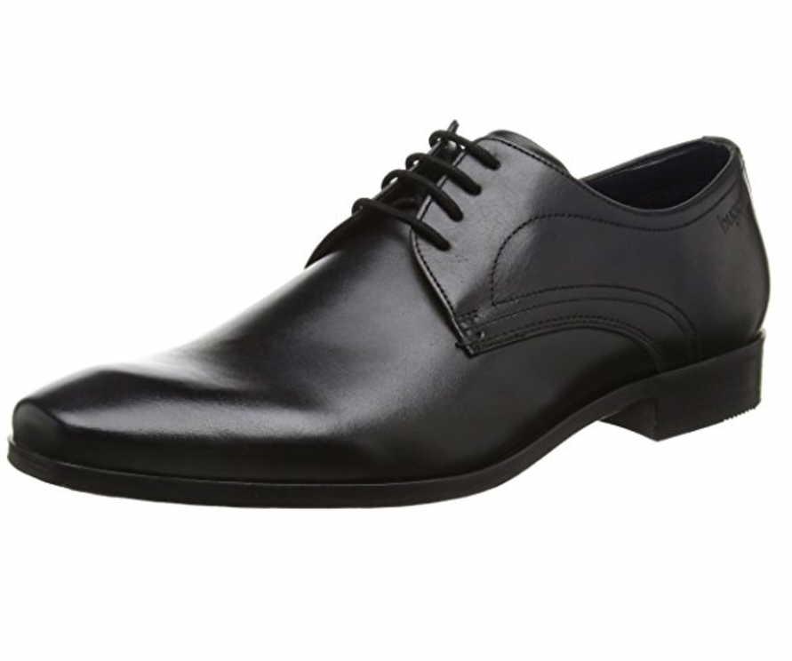 Herren Bugatti Business Schuhe schwarz Mattia 46