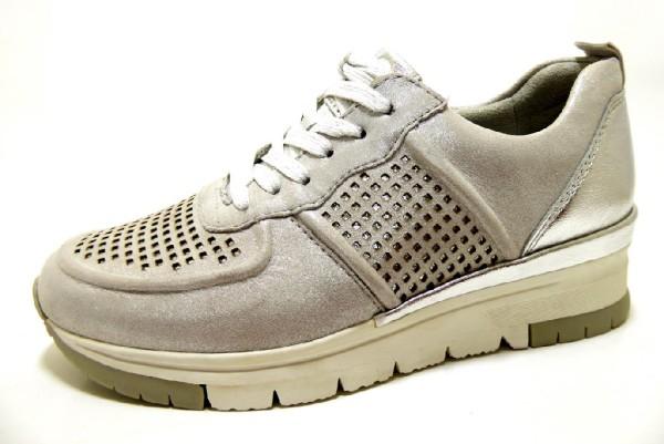 TAMARIS Sneaker metallic Da. Schnürer