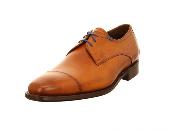 FLORIS VAN BOMMEL Business Schuhe braun Floris Dressed Cognac Calf