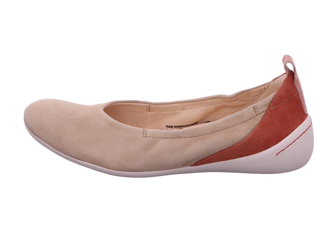 Think Ballerinas Damenschuhe 6-86210-29 4 Beige   Damenschuhe zdIsH