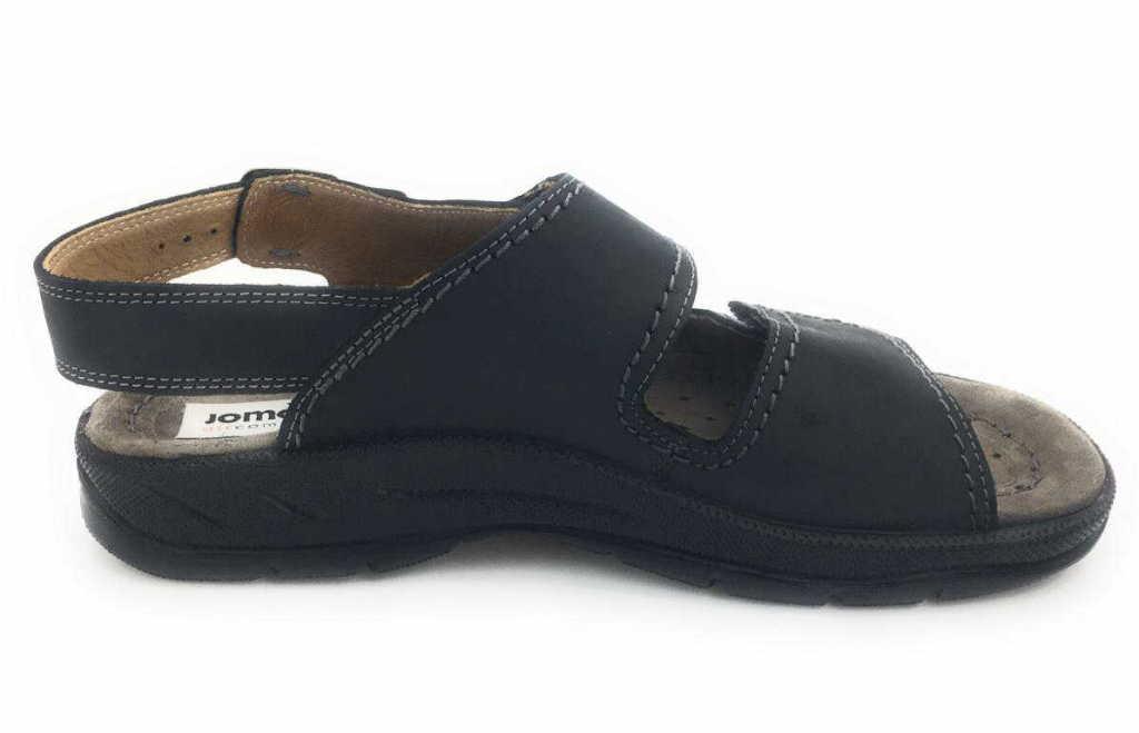 Herren Jomos Komfort Sandalen schwarz 40