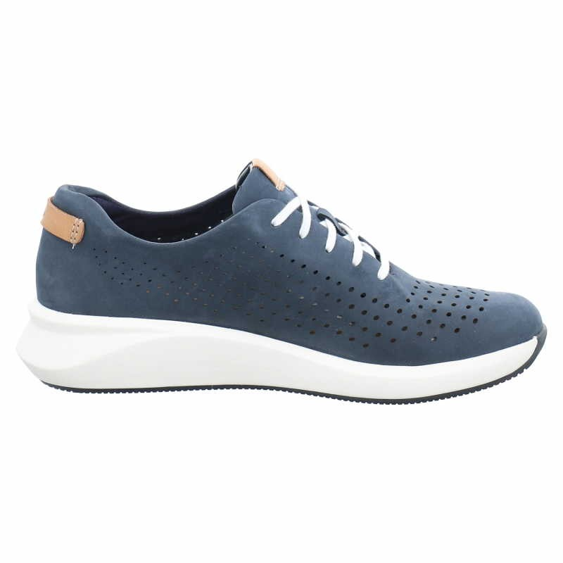 Clarks Sneaker Blau Womens