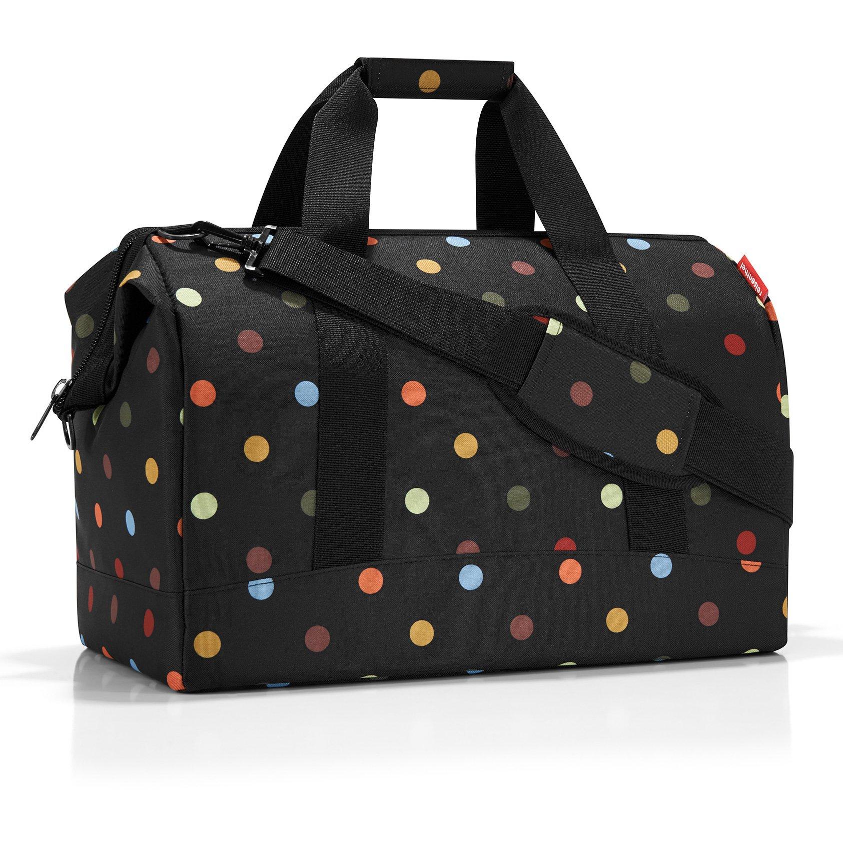 Reisenthel Handtaschen Taschen ALLROUNDER L_7009 dots Schwarz wZUtt