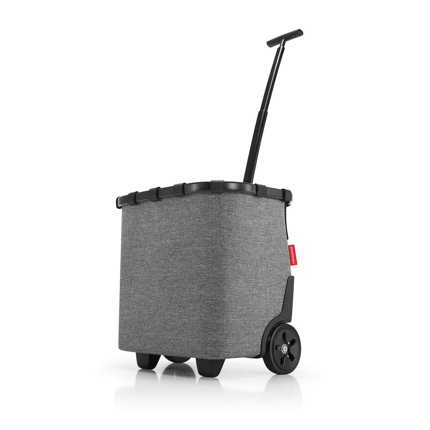 Reisenthel Handtaschen Taschen CARRYCRUISER_7052 twist silver Grau 4zVTr