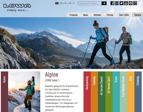 super specials new concept top brands LOWA und Schuhe24 starten Kooperation für Händler | Schuhe24