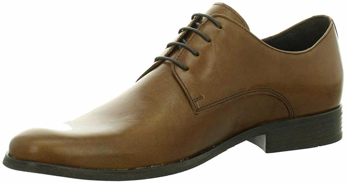 Herren Nicola Benson Business Schuhe braun NV 45