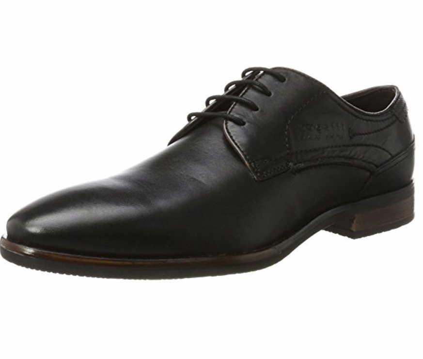Herren Bugatti Business Schuhe schwarz Levio 41