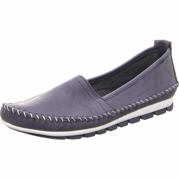 GEMINI Klassische Slipper blau