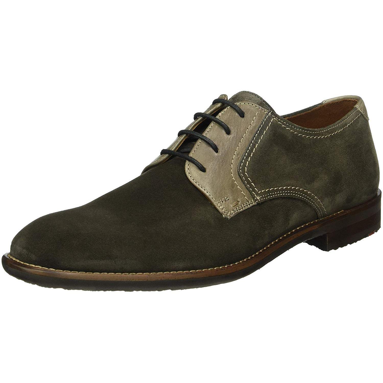 Herren Lloyd Business Schuhe grau HAMPTON 41