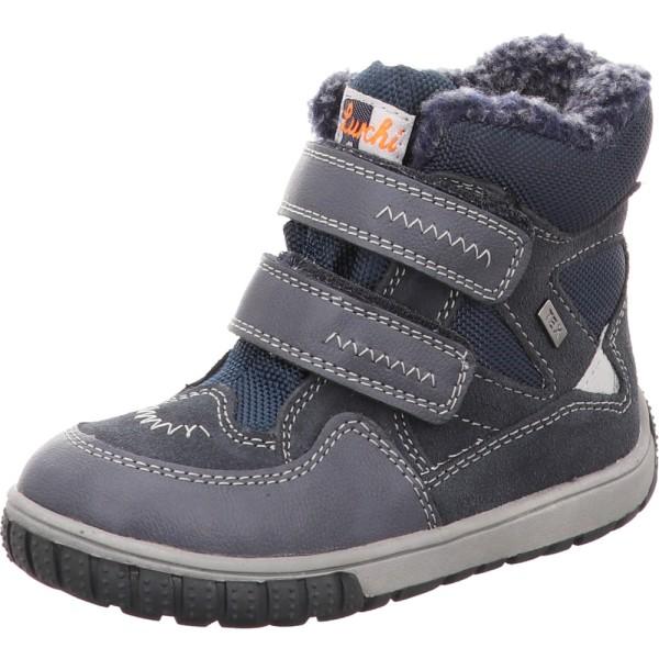 Lurchi Stiefel blau navy Suede