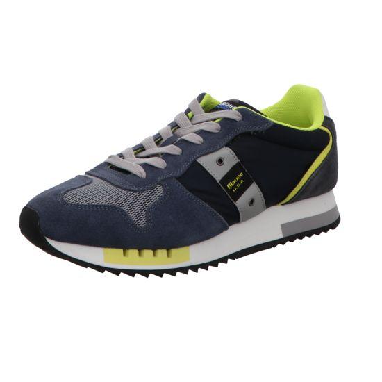 Herren Blauer Sneaker blau 44