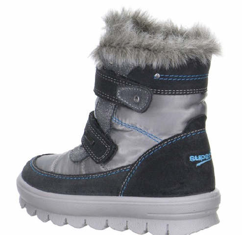 Superfit Stiefel Mädchen Kinderschuhe 1-00214-06 Grau   Kinderschuhe J4FYL