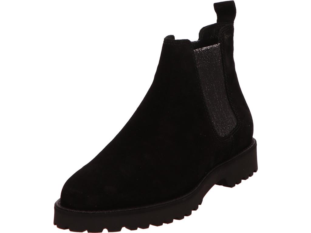 Damen Sioux Damen Chelsea Boot schwarz schwarz | 4054765488104