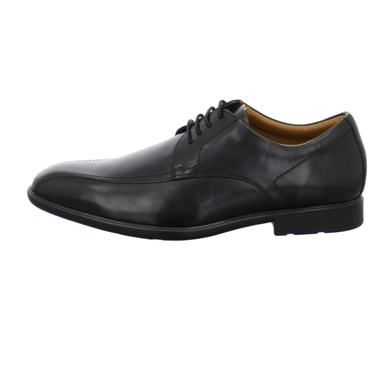 Clarks Business Schuhe schwarz