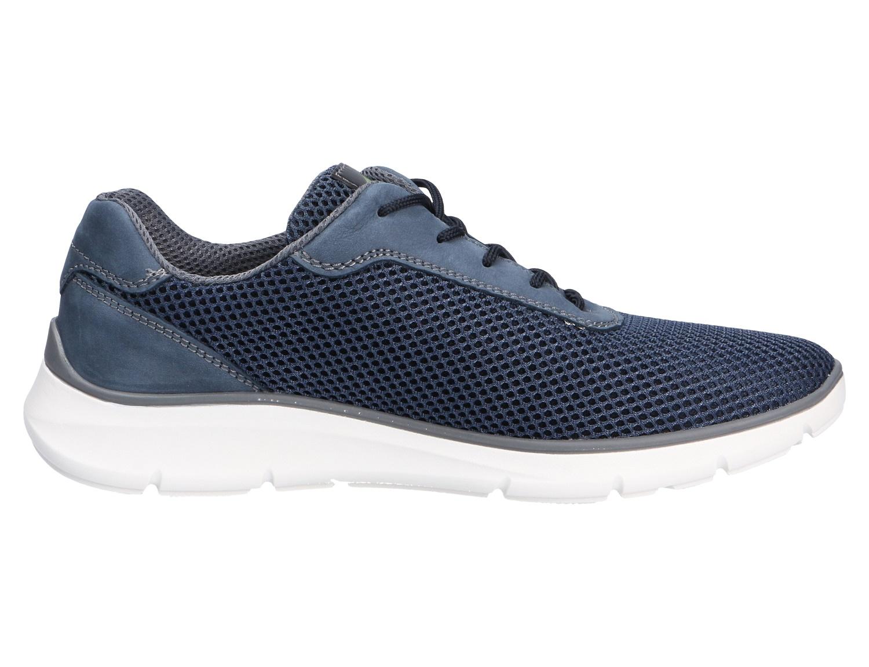 Waldläufer Sneaker Herrenschuhe 953001 208 206 - Haris Blau   Herrenschuhe WVAIV