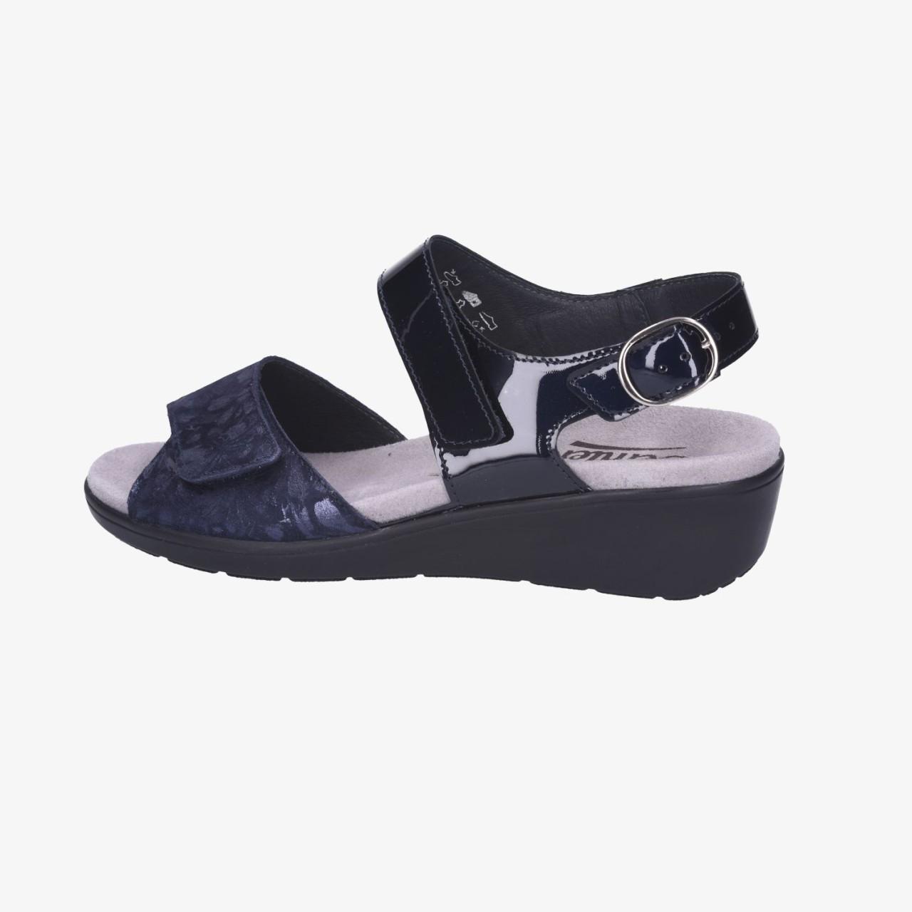 SEMLER    Komfort Sandalen blau Ramona