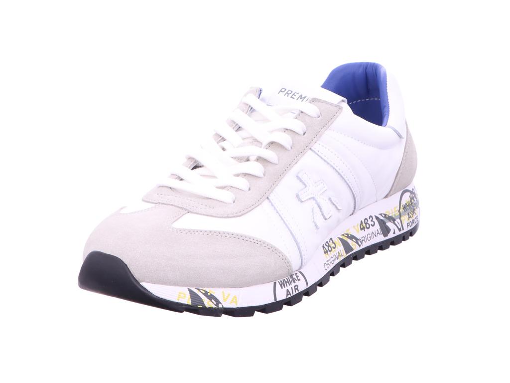 Herren Premiata Sneaker weiss 45