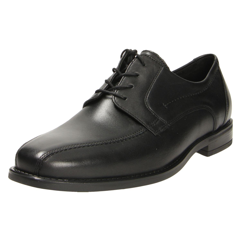 Herren Waldläufer Business Schuhe schwarz RIVA 41