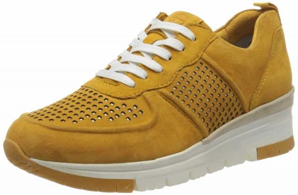 TAMARIS Sneaker gelb