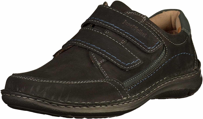 Herren Seibel Komfort Slipper schwarz Anvers 90 40