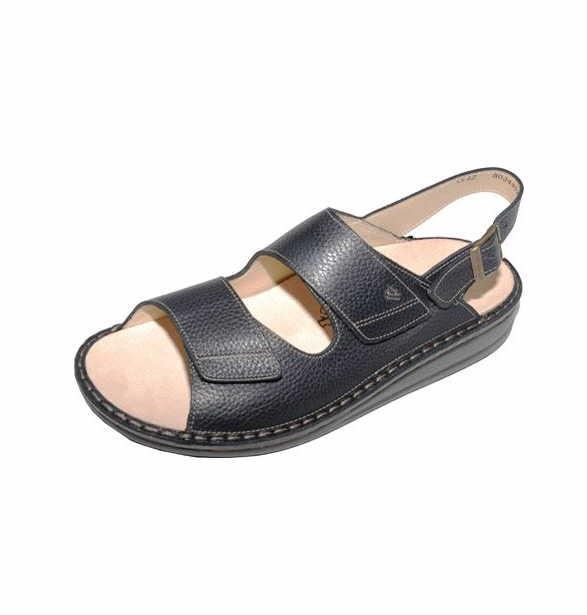 Herren Finn Comfort Komfort Sandalen schwarz 42