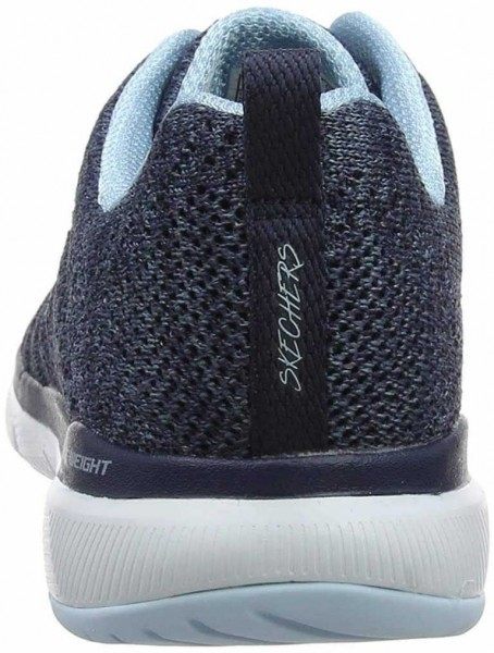 the best attitude bb6a5 8c00b Skechers Sneaker blau Flex Appeal 3.0 High Tides