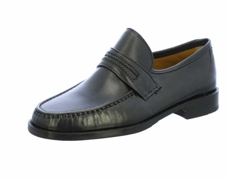 Herren Lloyd Klassische Slipper schwarz Kendo 42,5