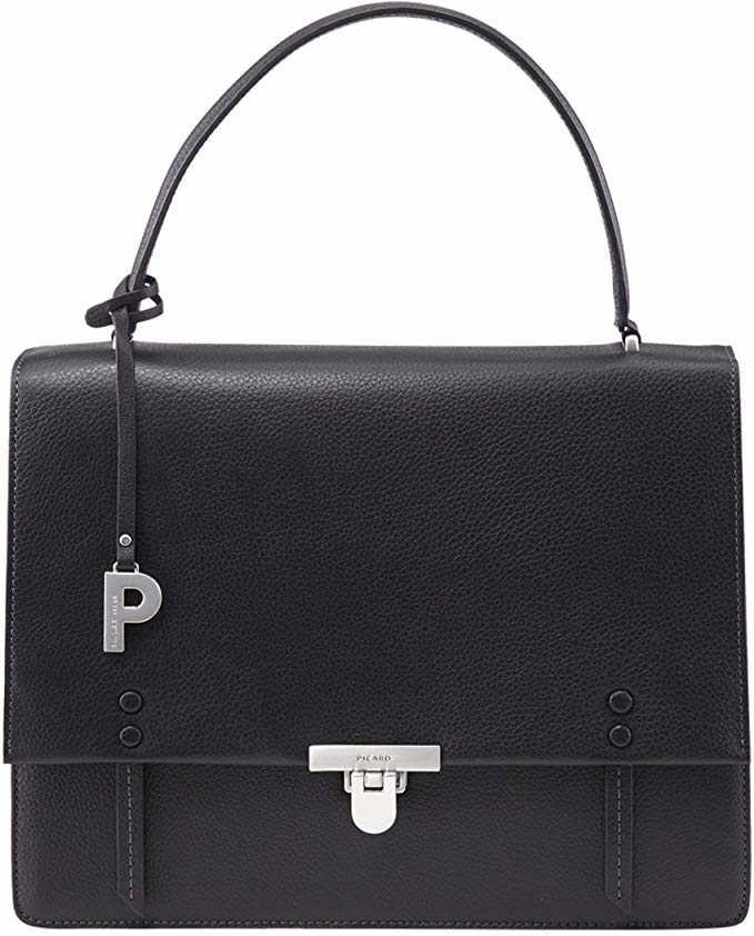 Picard Handtaschen Taschen 9393 Parisienne schwarz Schwarz tuL0C