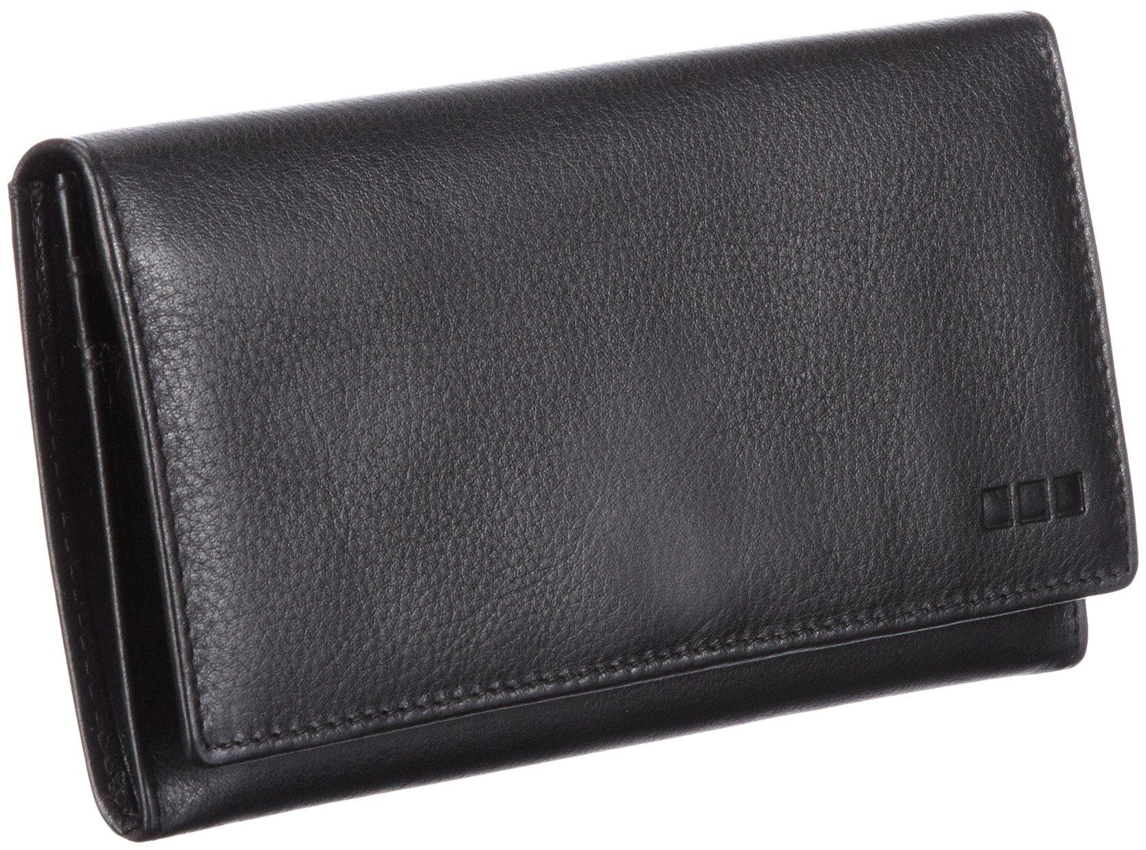 Müller & Meirer Lederwarenfabr Handtaschen Taschen 4900000213_SCHWARZ Schwarz dDqCH