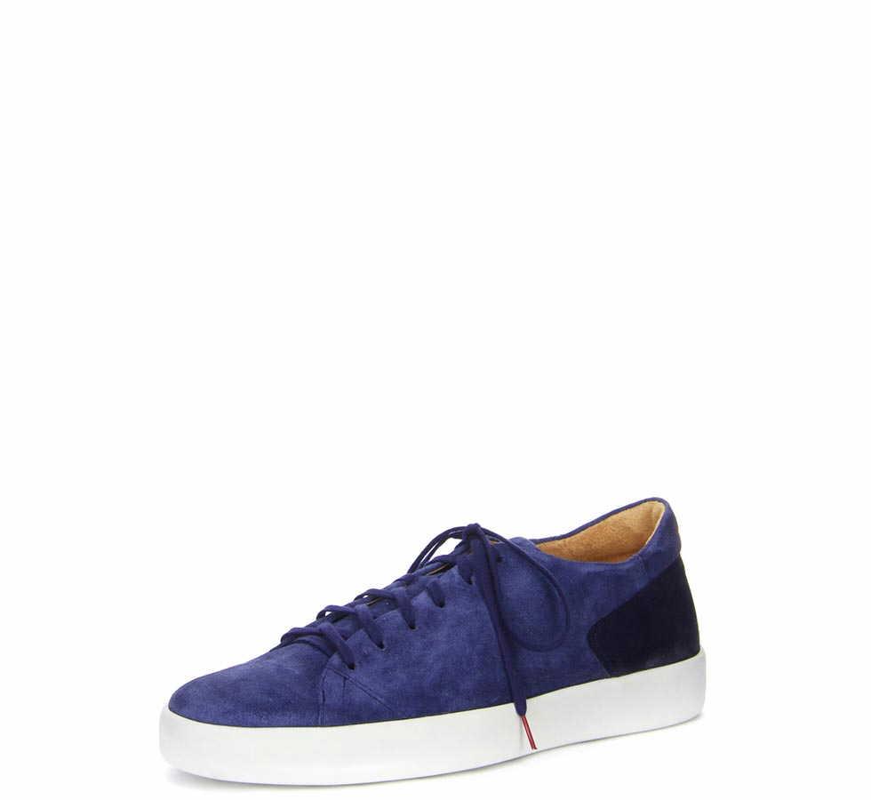 Herren Think Sneaker blau 44