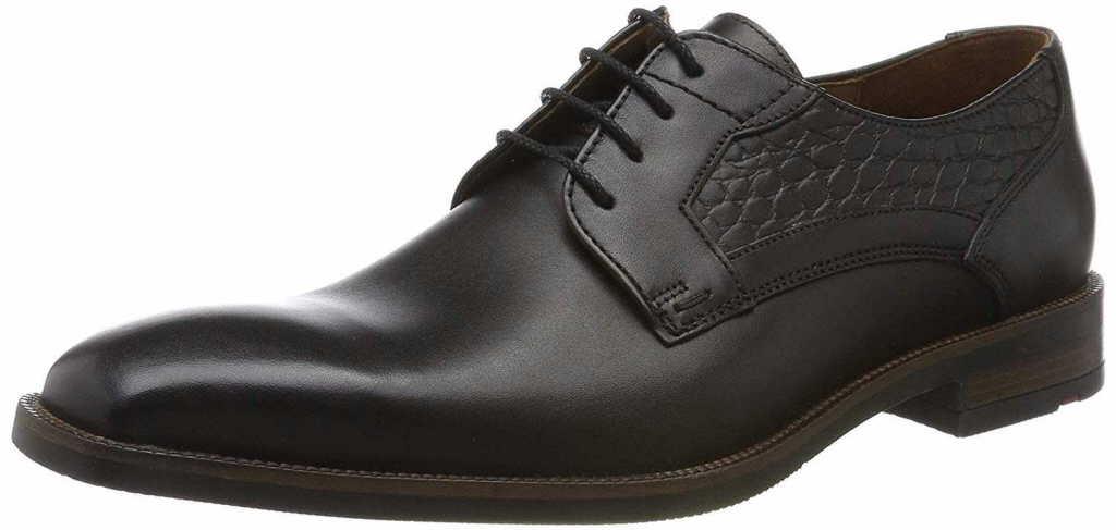 Herren Lloyd Business Schuhe schwarz NICO 42,5