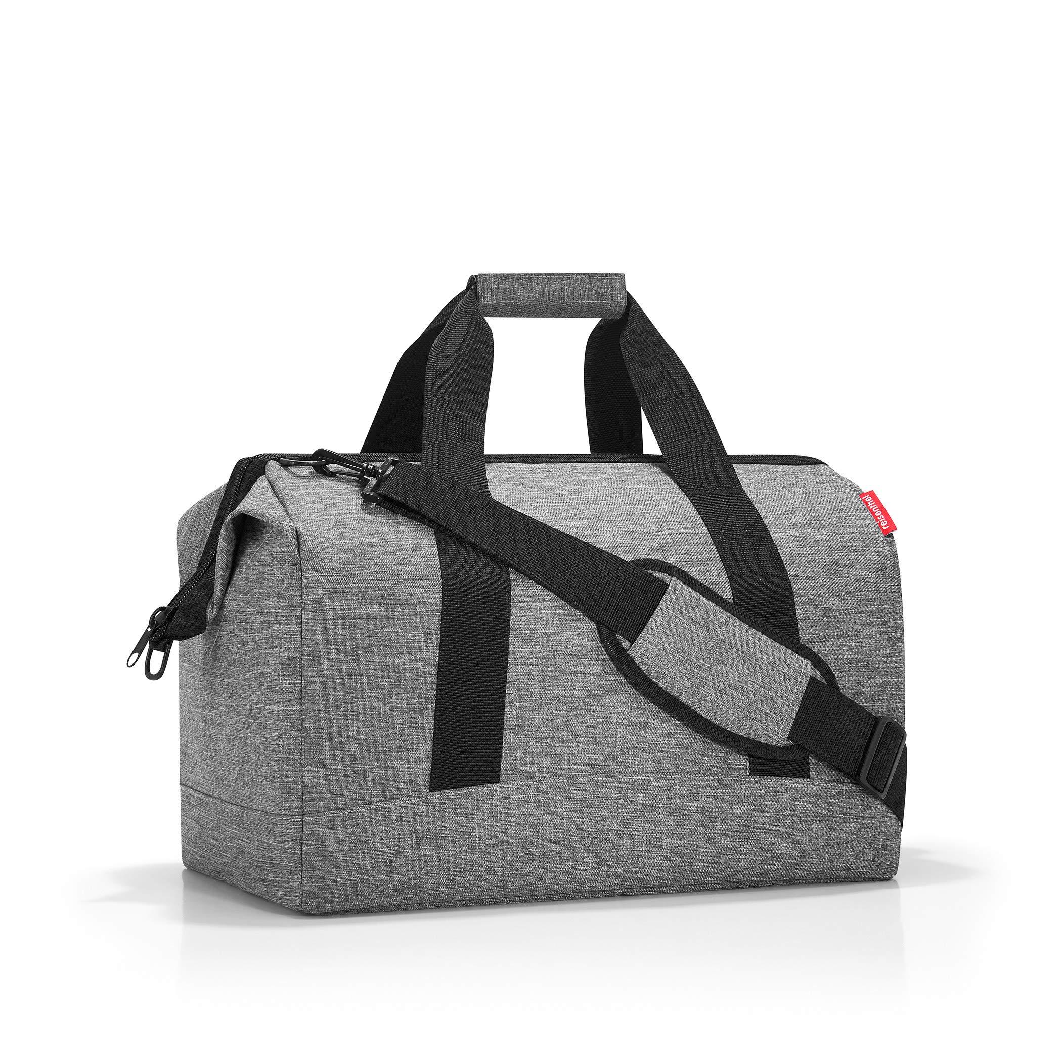 Reisenthel Handtaschen Taschen ALLROUNDER L_7052 twist silver Grau SrB6L