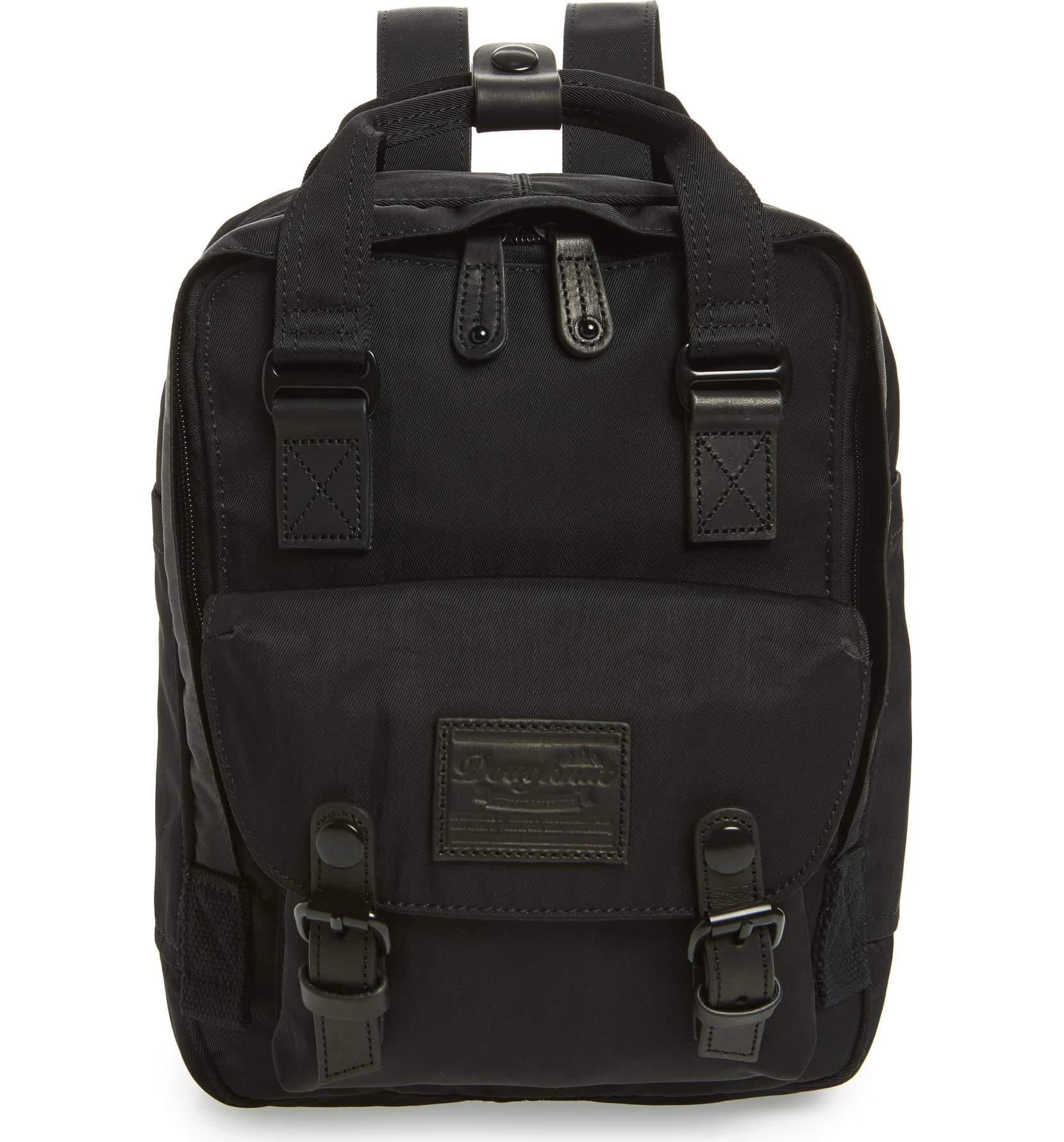 Doughnut Handtaschen Taschen D124_B 0003 black Schwarz g7pqM