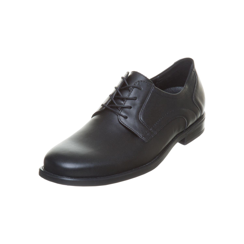 Herren Waldläufer Herren Business Schuhe schwarz schwarz | 4050816919054