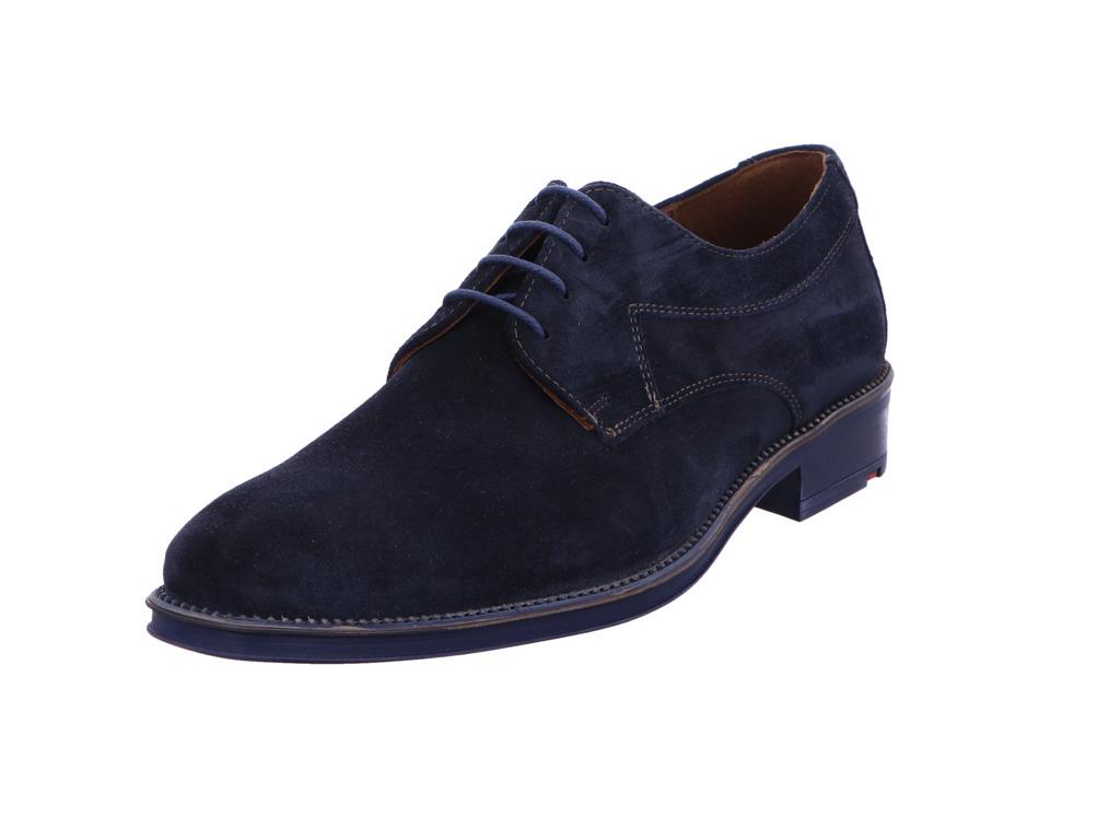 Herren Lloyd Business Schuhe blau 43