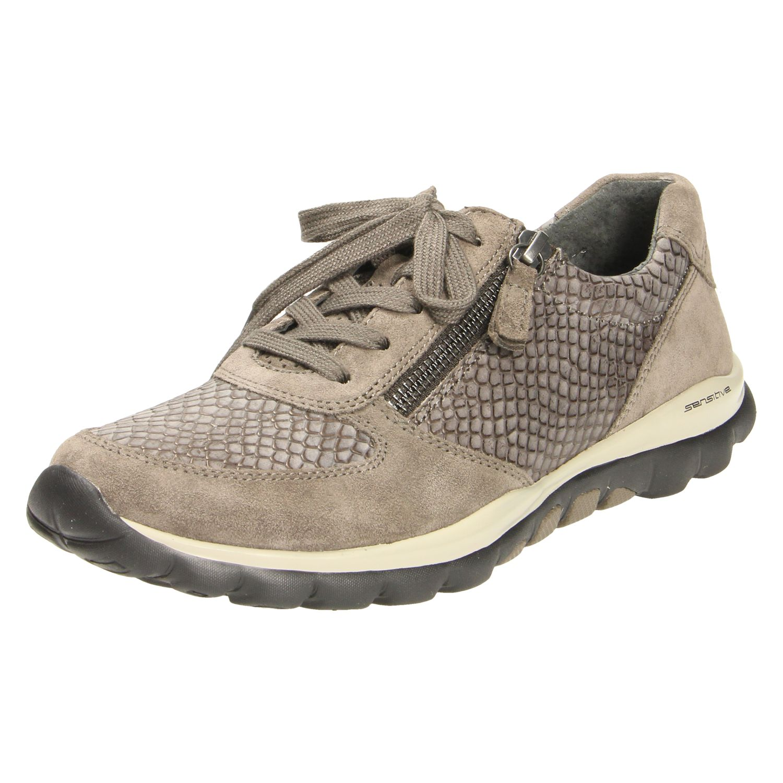 Damen Sneaker von Gabor beige,blau,braun,schwarz | 4058394762710