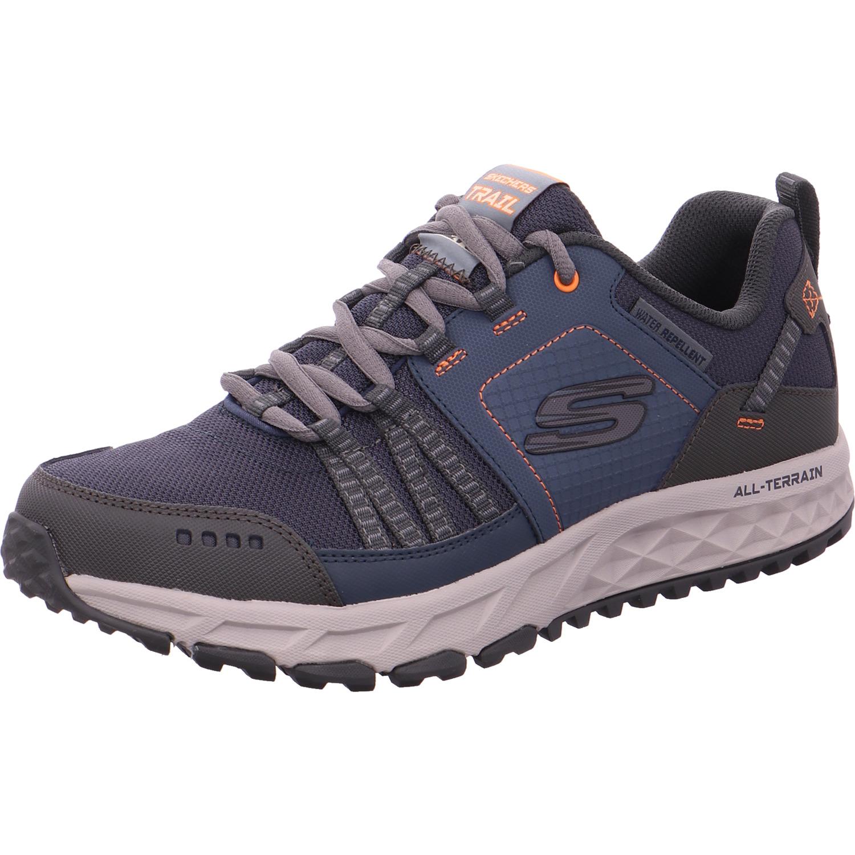 Skechers Trekkingschuhe Herrenschuhe 51591 NVOR Blau   Schuhe24