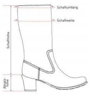 Schafthöhe erklärt von Schuhe24   Schuhe24 a2f9436183