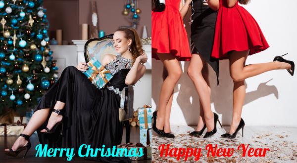 High Heels und Pumps zu Weihnachten: Macht hoch die Tür