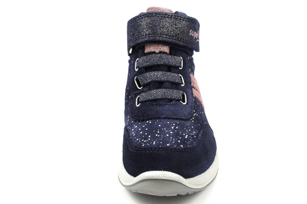 Superfit Stiefel Mädchen Kinderschuhe 1-009184-8000 Blau | Kinderschuhe kwEpN