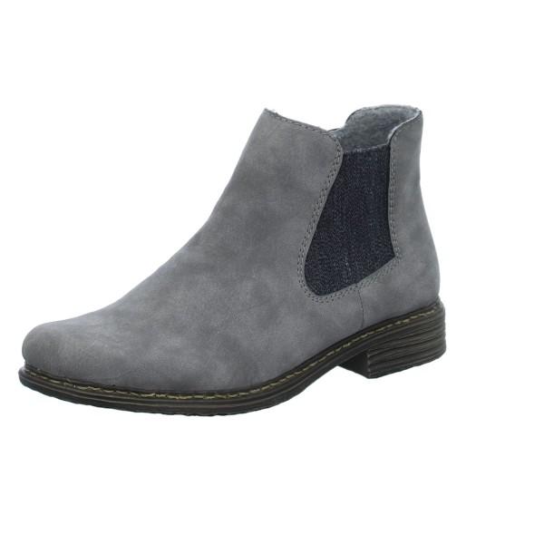 Rieker Stiefelette grau | Markenschuhe