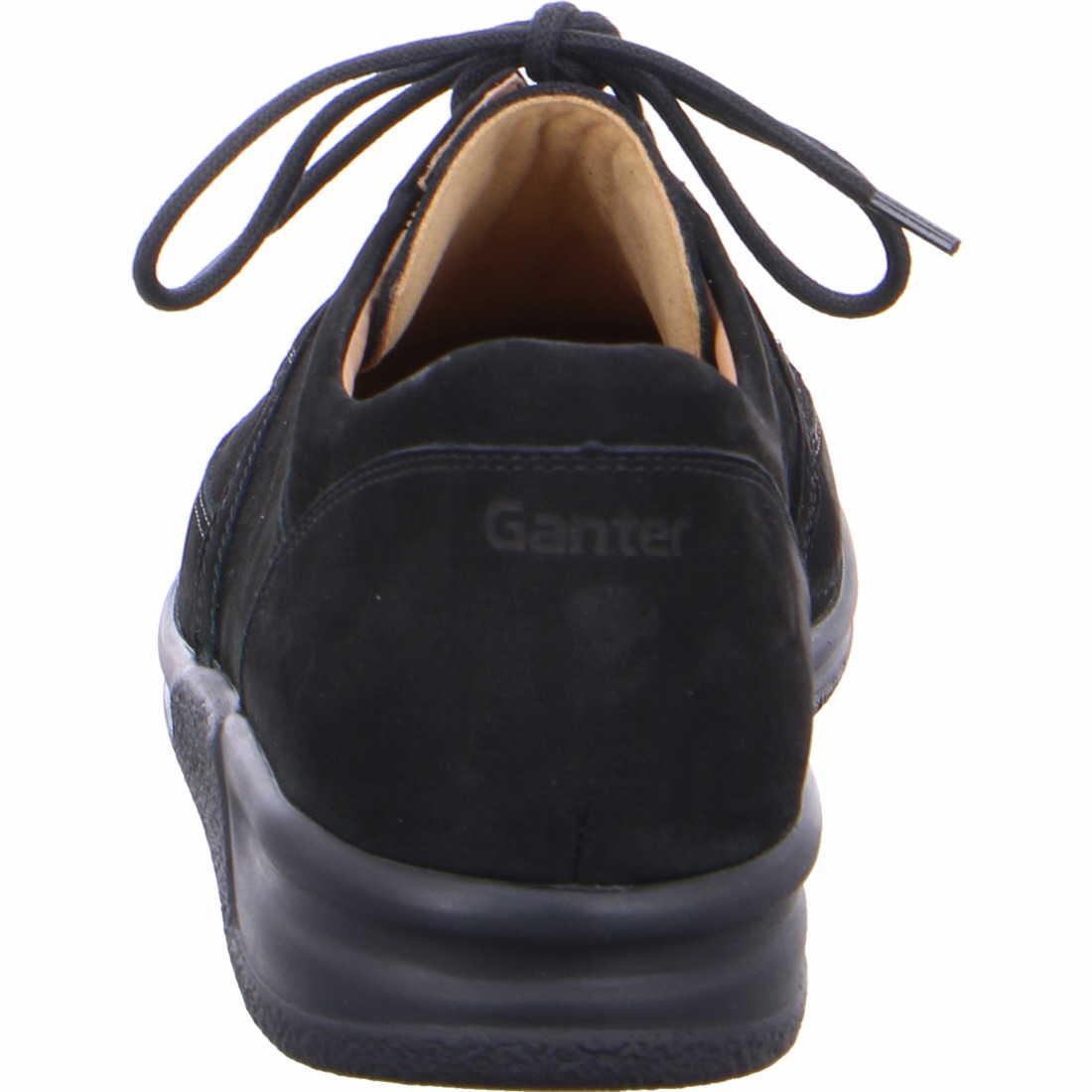 Ganter Komfort Schnürer Herrenschuhe 256702-0100 Schwarz | Herrenschuhe tW5gX