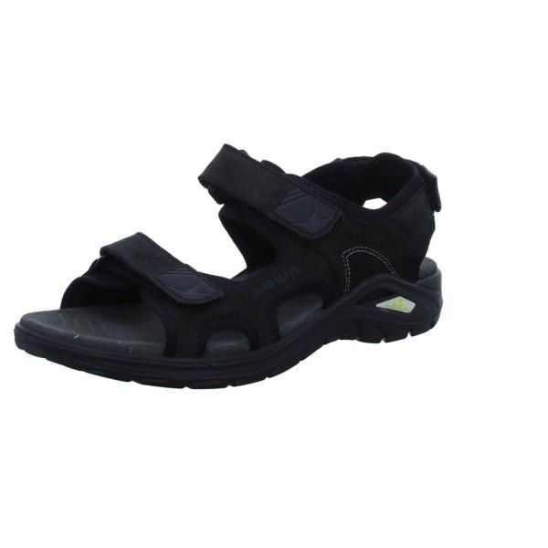 LOWA Sportliche Sandalen schwarz