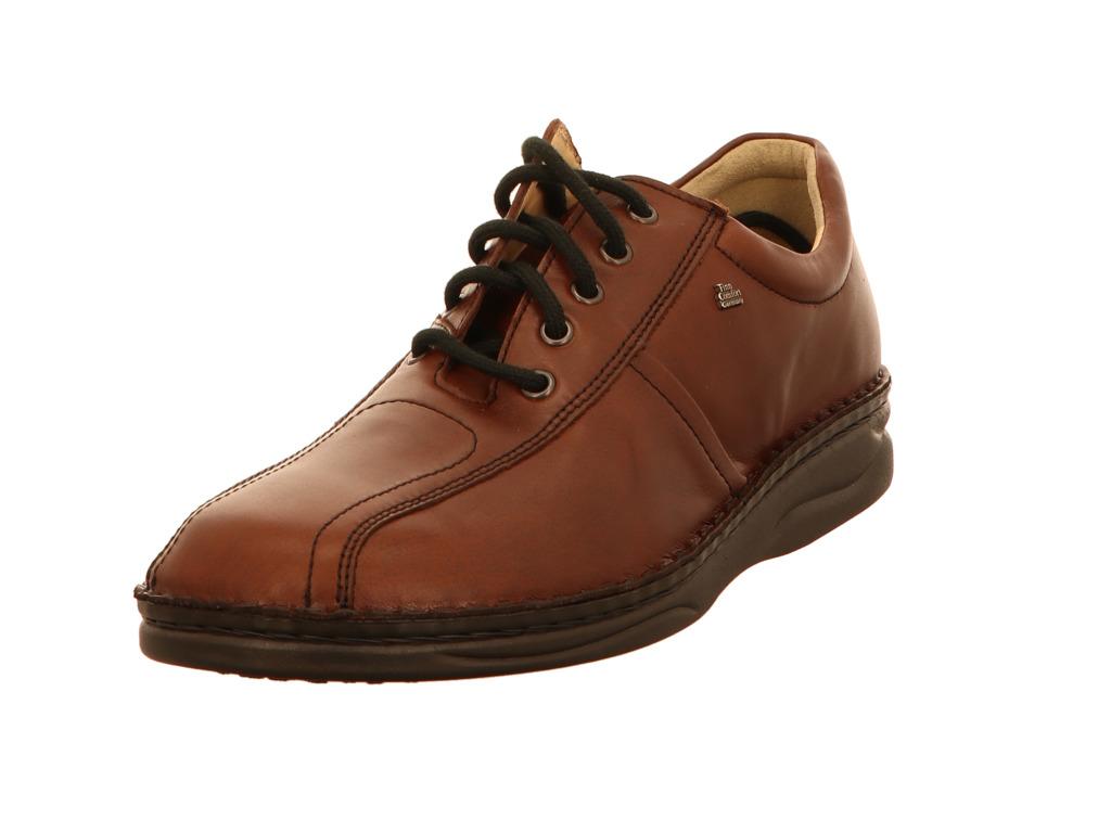 Herren Finn Comfort Herren Business Schuhe braun braun | 0691812343104